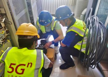 中国航天神州十二 通信网络需要110%的保障,COMWAY(康未)负责光纤熔接
